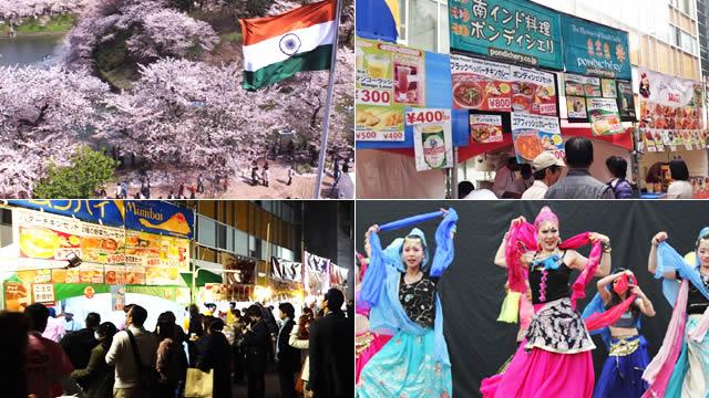 インド大使館桜フェスティバルの画像