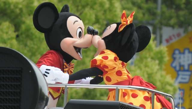 神戸まつり2014 ディズニーパレード 画像
