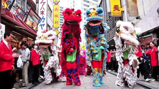 横浜中華街 国慶節の画像