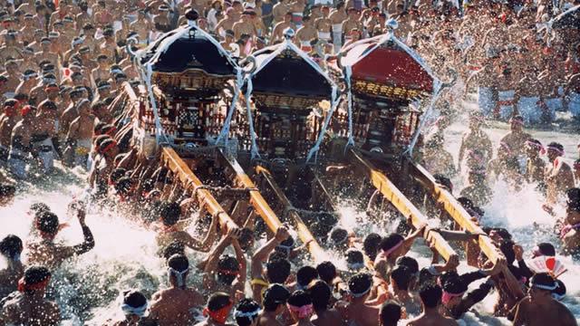 いすみ市大原はだか祭りの画像