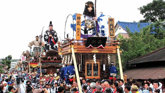 佐原の大祭夏祭りの画像