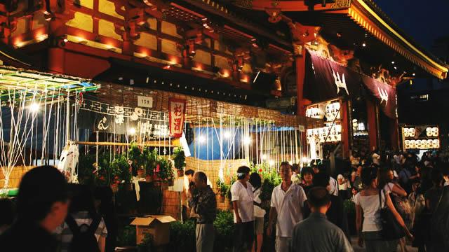 浅草寺ほおずき市の画像
