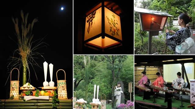 向島百花園月見の会の画像